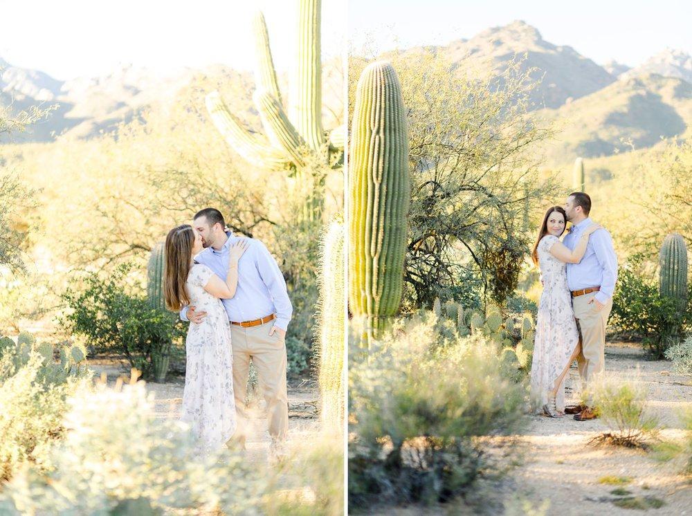 mount lemmon engagement photographer