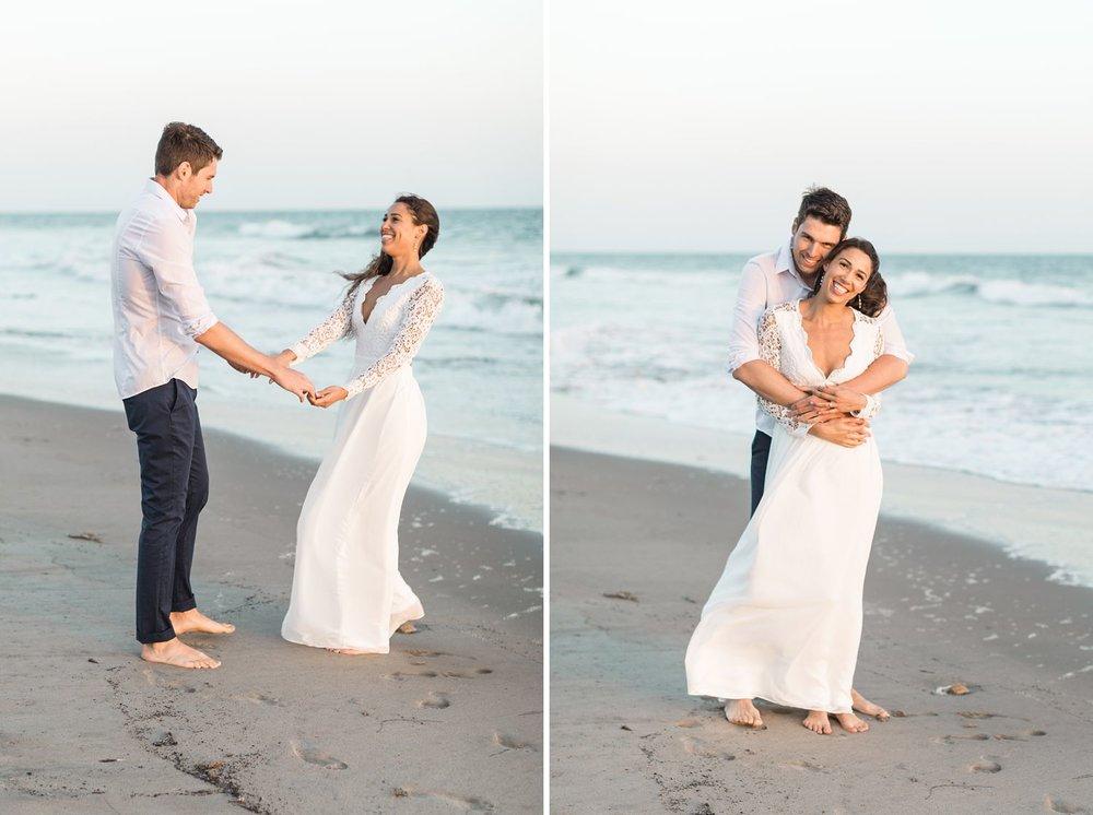 engagement shoot carpinteria beach