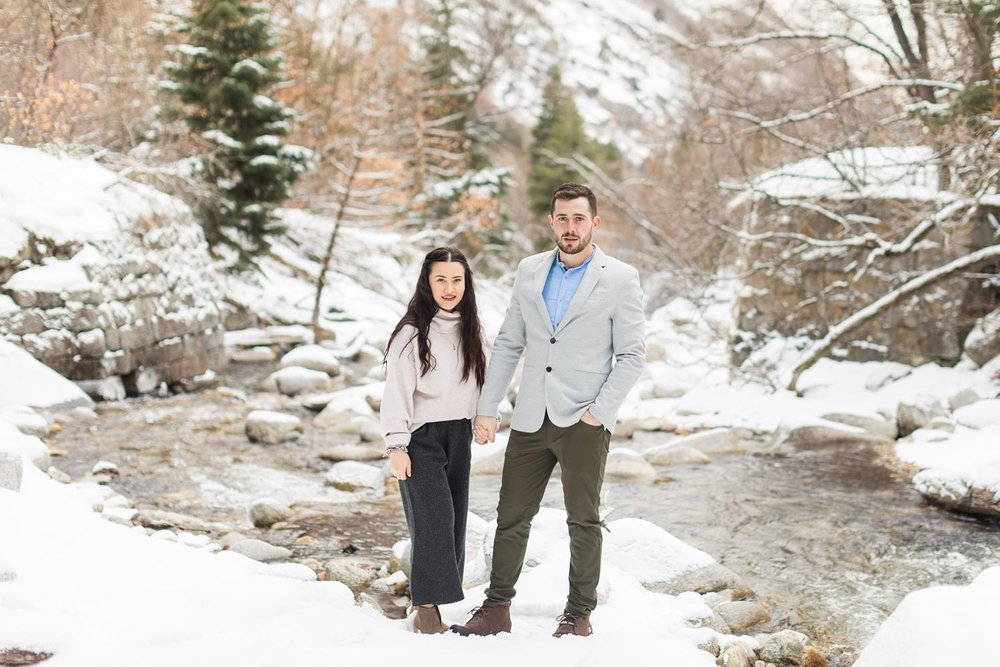 cottonwood heights engagement shoot
