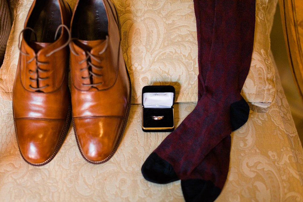 grooms shoes tubac wedding