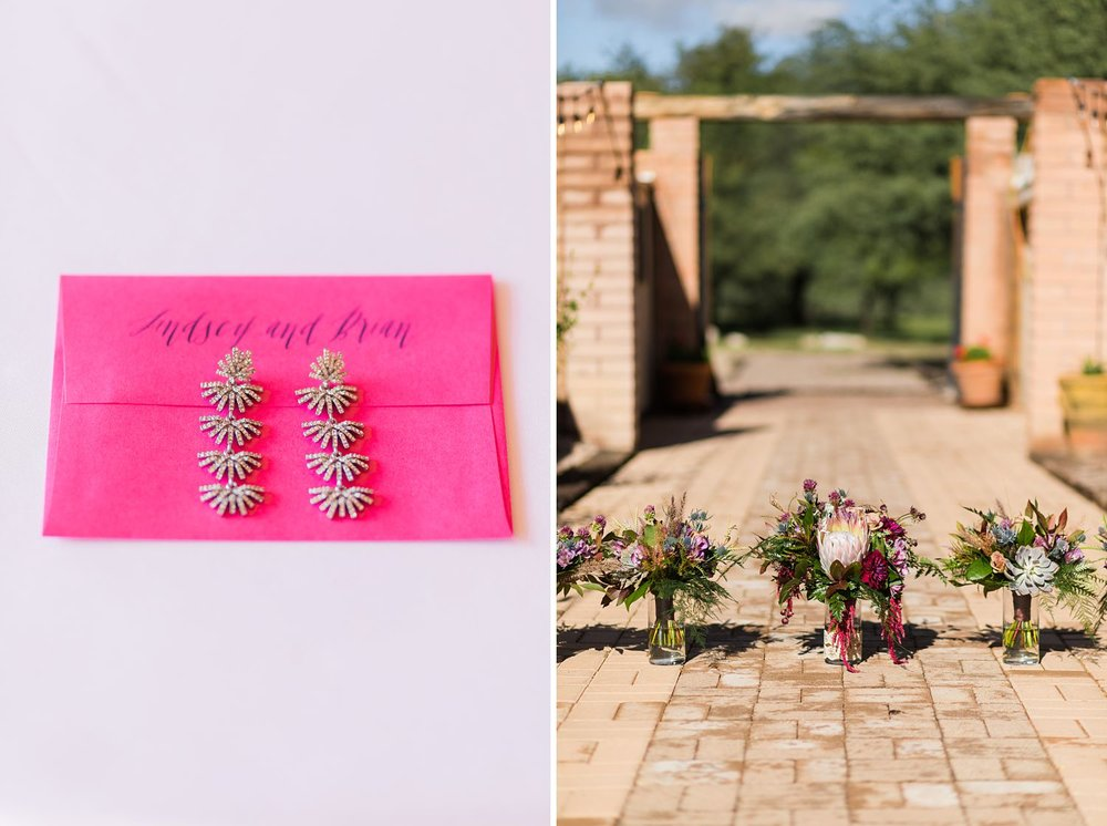 king protea bouquet arizona wedding