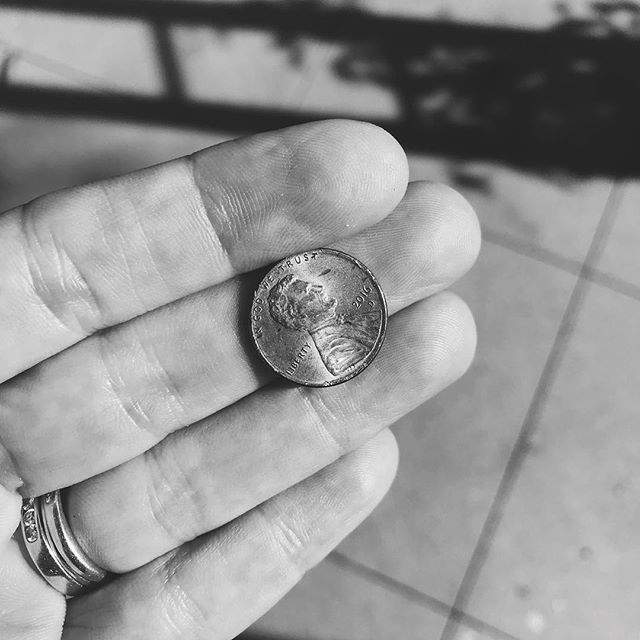 Day 3 #blackandwhitechallenge now I tag you @chelsealee and @ksugarandspice - 7 days B/W only no explanation & no people #makeyourownluck #luckypenny