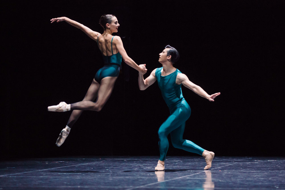 "dimity azoury and CHENGwU guo pictured here ""in the middle somewhat elevated""           photo - daniel boud"