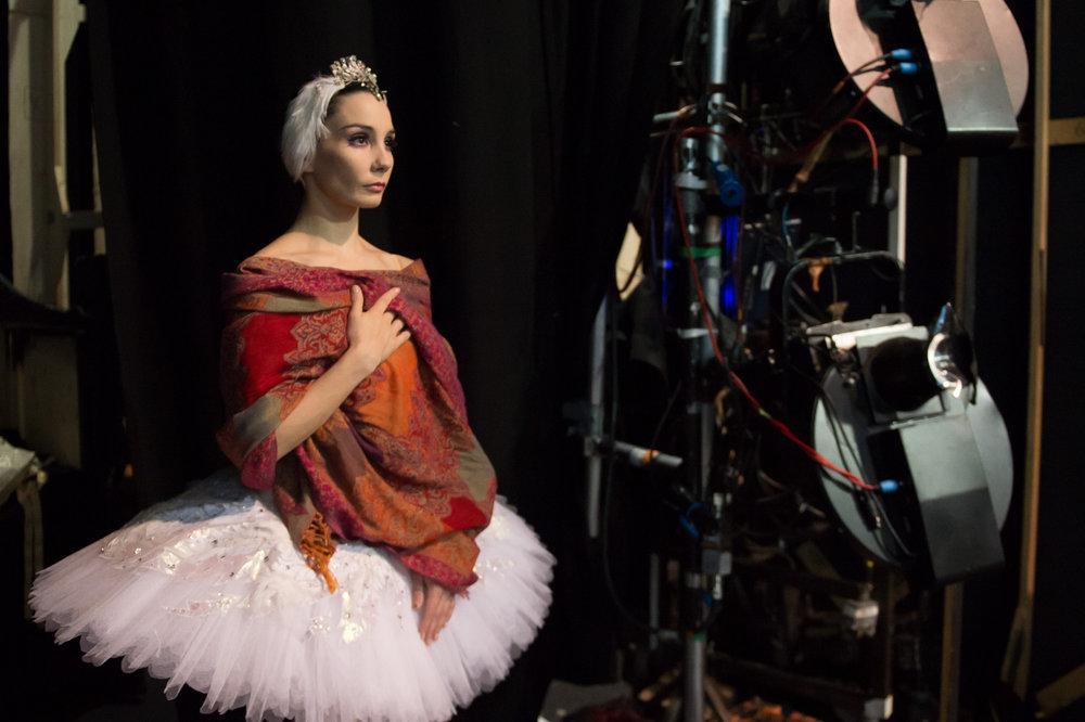 pictured - tamara rojo, director and principal dancer of English national ballet