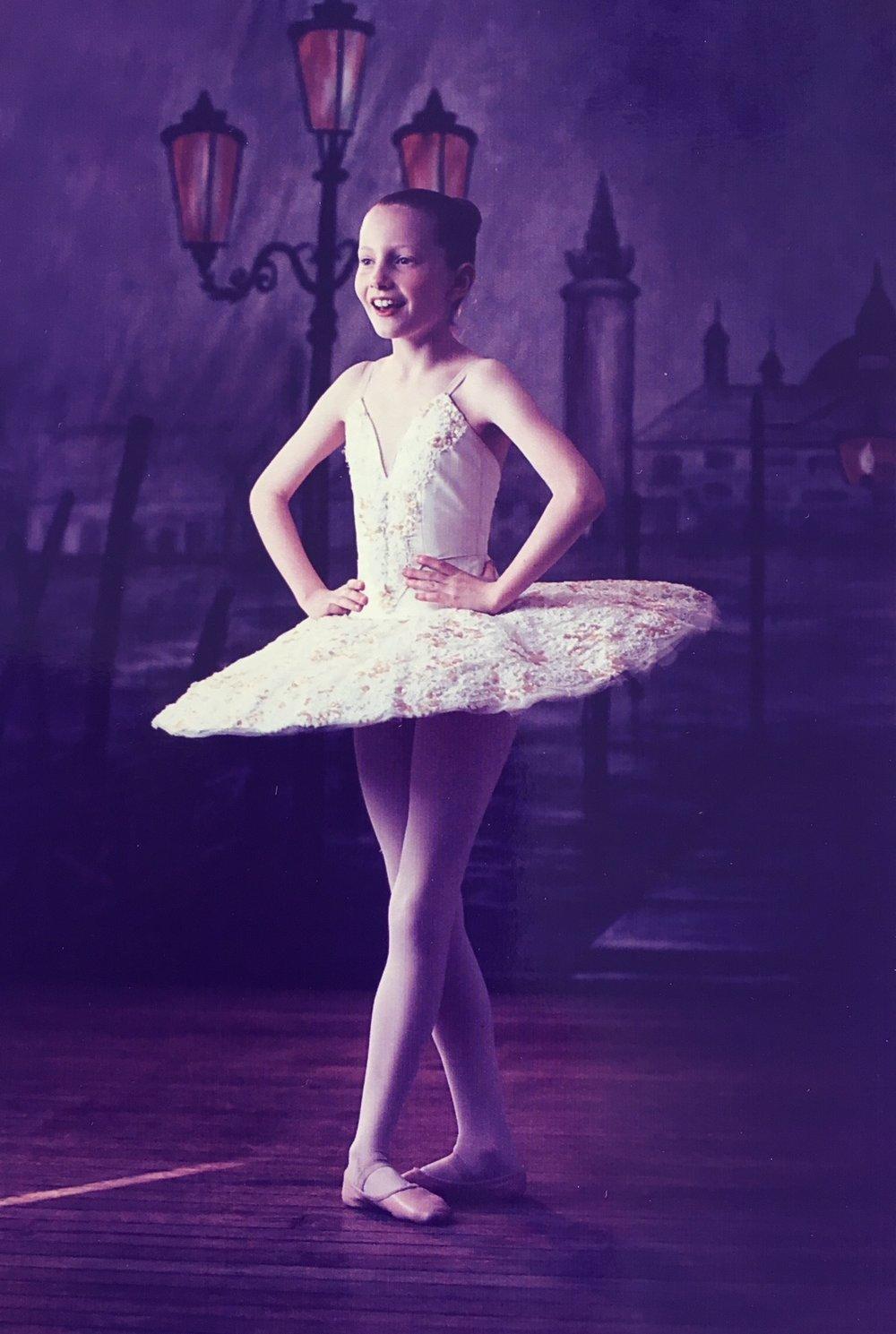 eliza, aged 8