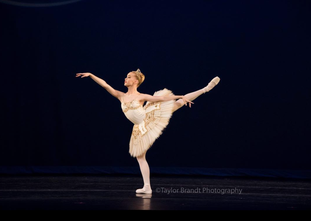 phoebe performing at yagp; Taylor brandt photography