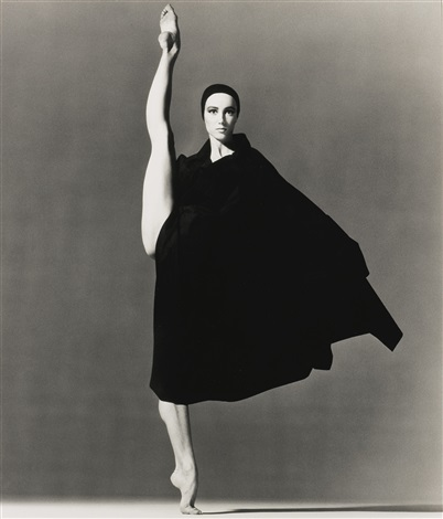 sylvie guillem, photgraphed by richard avedon.