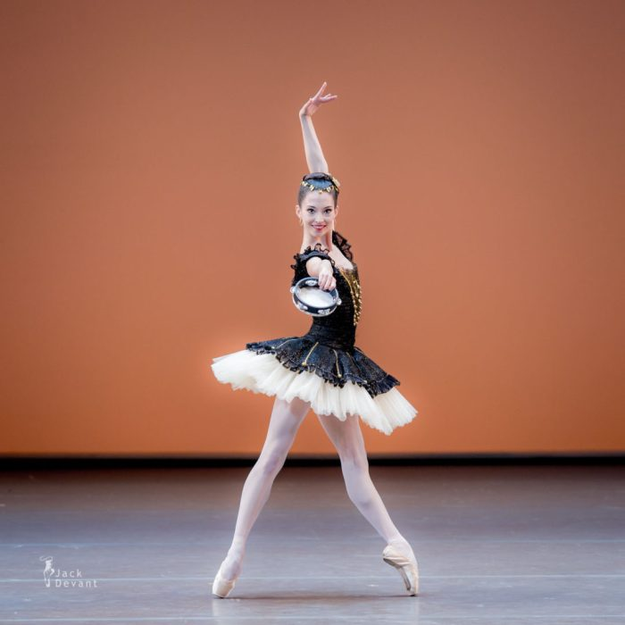 hannah o'neill of paris opera ballet, performs esmerelda