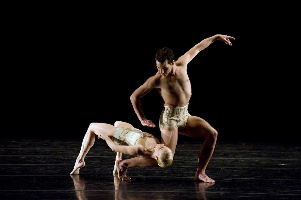 "dancers from smuin ballet in jiri kylian's ""petite mort"""