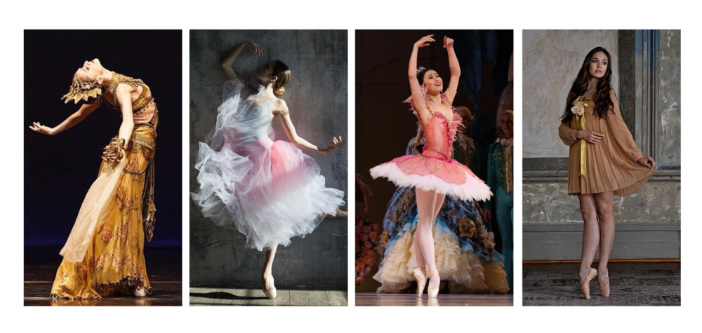 more of amber's favourites!  From l to r; marianela Nunez, Stanislava Postinova, Ako Kondo & juliet doherty