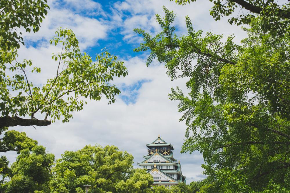 Osaka Castle, Japan www.somethingaboutyourlove.com
