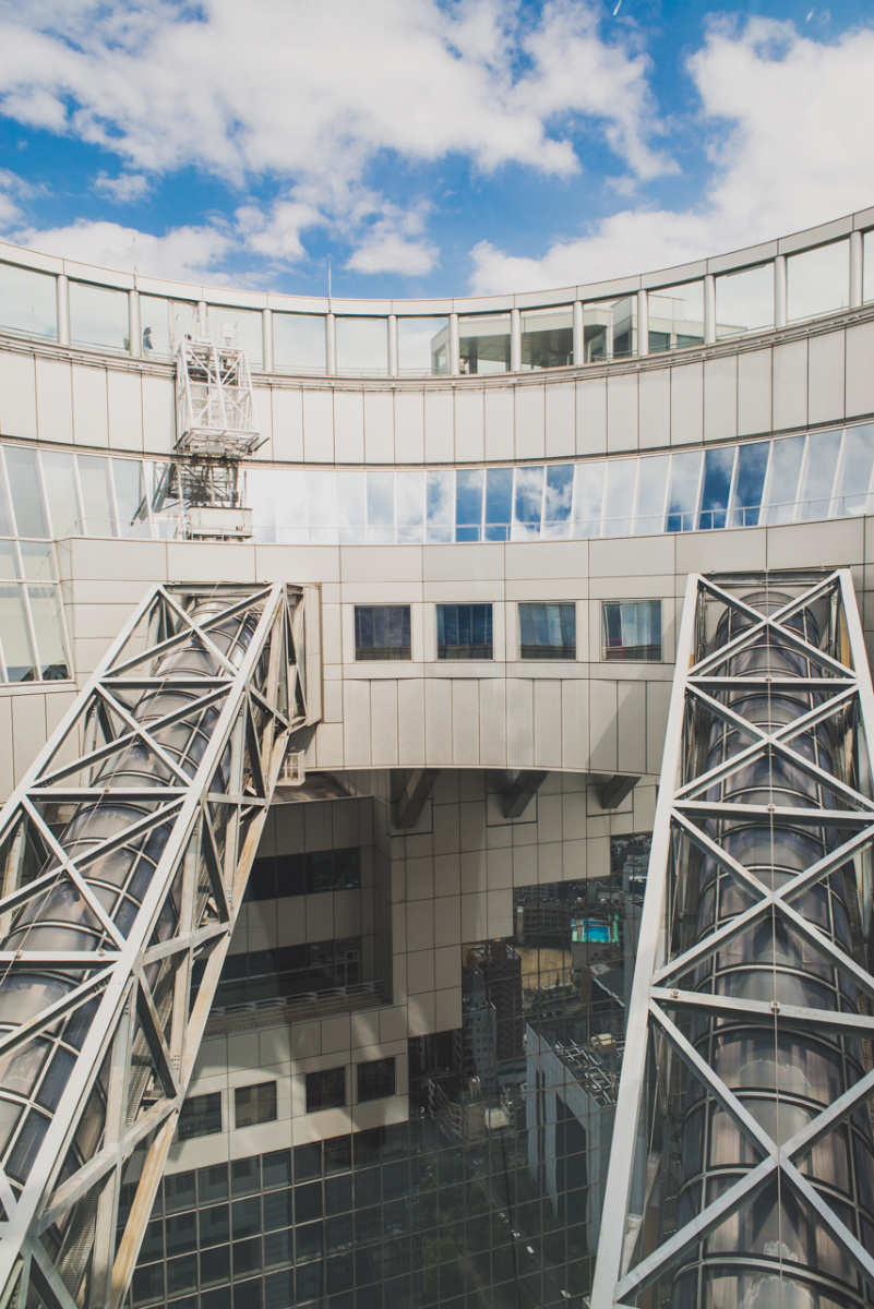 Umeda Sky Building, Osaka www.somethingaboutyourlove.com