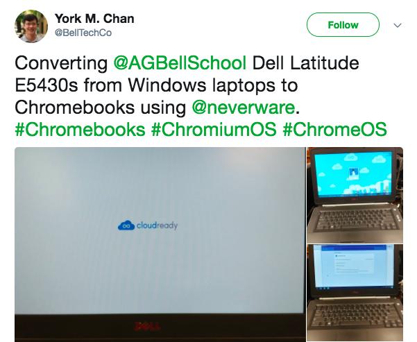 York Chan, Chicago Public Schools, Twitter quote