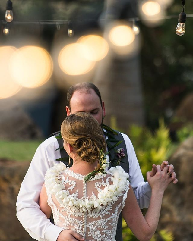 Dancing under the lights in Maui, what a great way to celebrate! . . . #wedding #weddingphotographer #destinationweddingphotographer #destinationwedding #mauiwedding #adventurebride #adventurebrides #bride #bridalinspiration #coloradoweddingphotographer #coloradowedding #coconutfarm #bokeh #firstdance