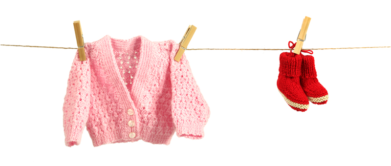 Tiny woollen clothes are donated to The Neonatal Trust by kind Kiwi knitters.