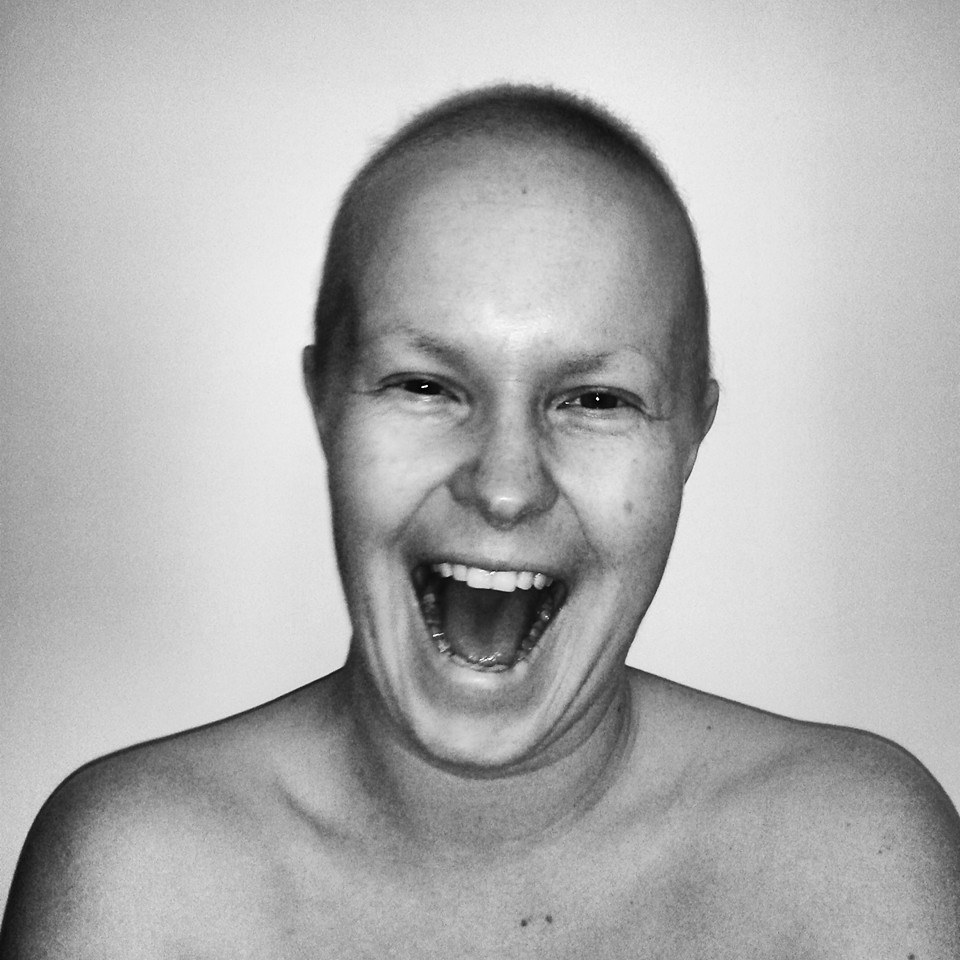 Cancer Gone - Taken Feb 14 after Jess was told the cancer had been removed with clear margins.