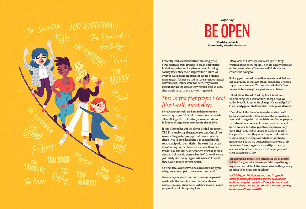 Be Open - Jo Cribb