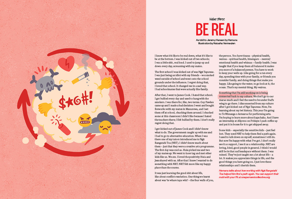 Be Real - As told to Jeremy Hansen by Hemana