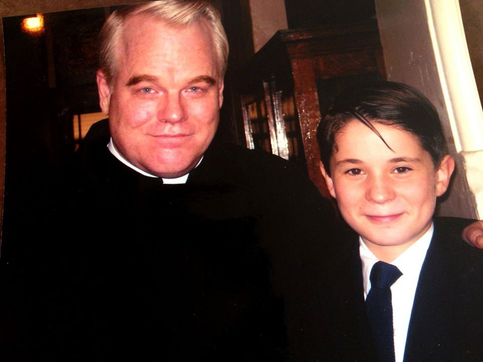 Philip Seymour Hoffman and Lloyd Clay Brown