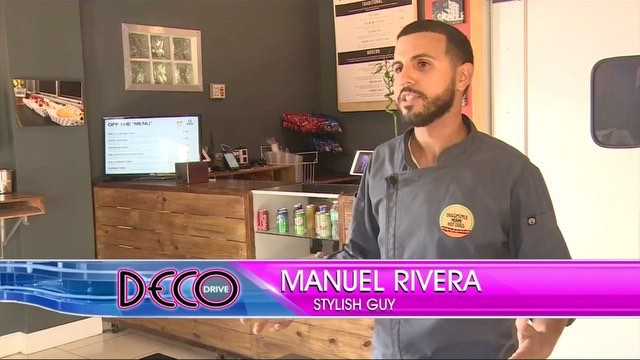 """""""Winner wieners: Doggystyle in Miami is reinventing the hot dog"""" #tbt to our segment on Deco Drive this week! Thank you to everyone who has believed and supported along the way. #americandream #miami #littlehaiti #gourmet #hotdog #concept #restaurant #cheflife #wieners #tv #decodrive"""