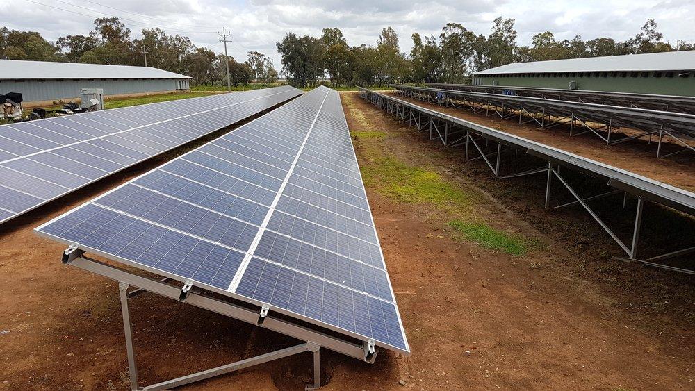 pro ten solar system 2.2MW smart commercial solar