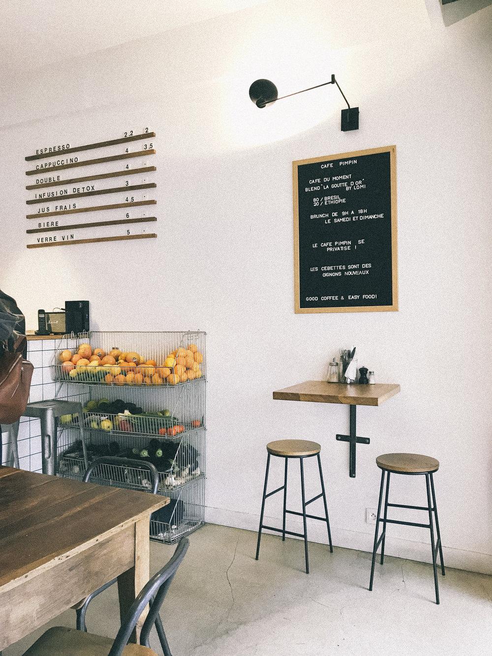 Cafè:  BlackBurn Coffee