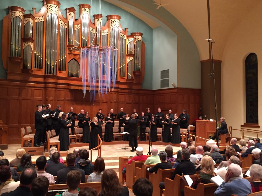 Concert at First Congregational Church, Sioux Falls, South Dakota