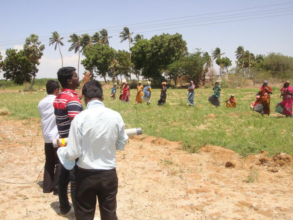 Gospel in the Farming field.JPG