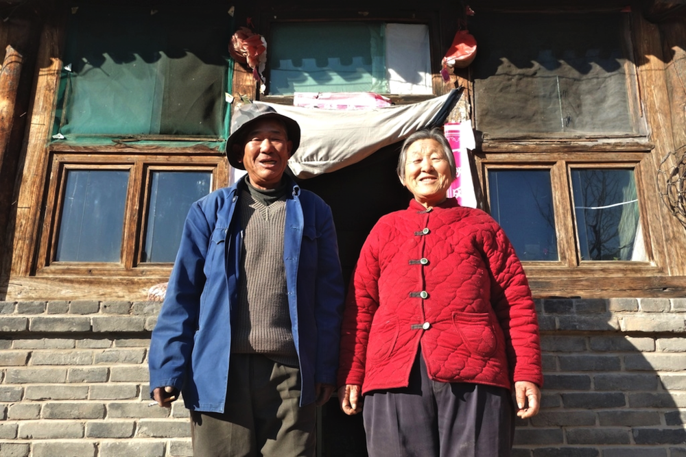 Yun Quanshan, 70, and Peng Tianying, 70