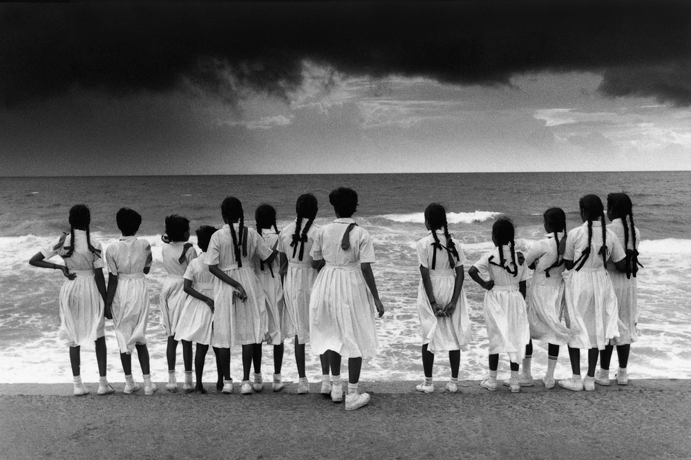 Schoolgirls, Galle Face Green, Colombo