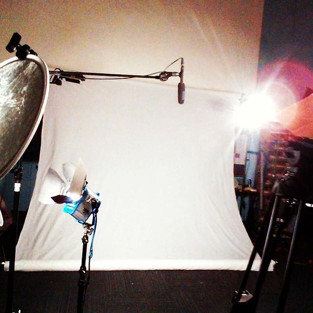 Lights, camera, techhive. #shareteam #weinvent #techhive