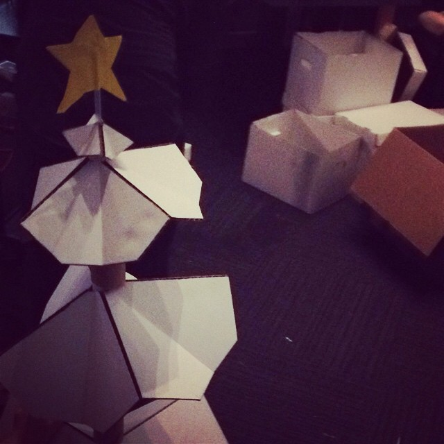 First ever #TechHive #DIY #ChristmasTree