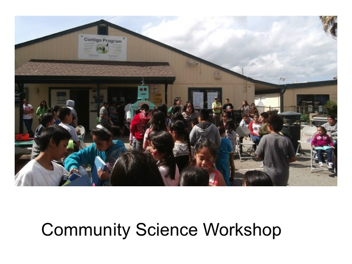 This project was inspired by our friends the Community Science Workshop.