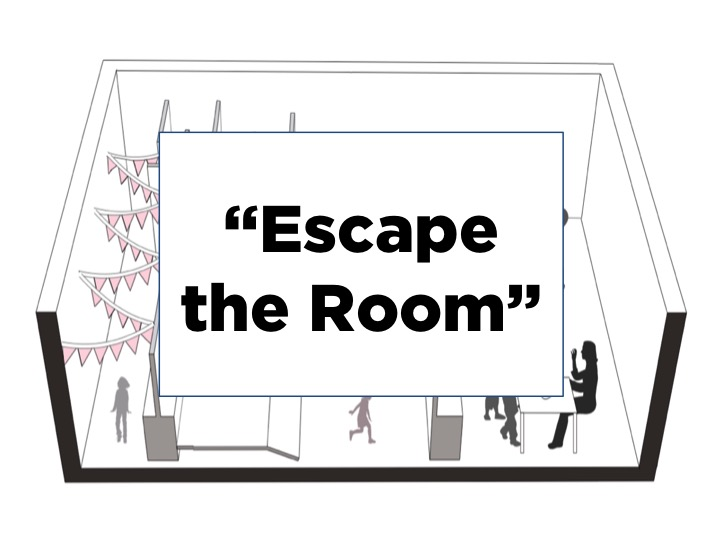 """We decided to build add an""""escape the room"""" element to the haunted house, which would require visitors to complete a series of challenges to escape the haunted house."""