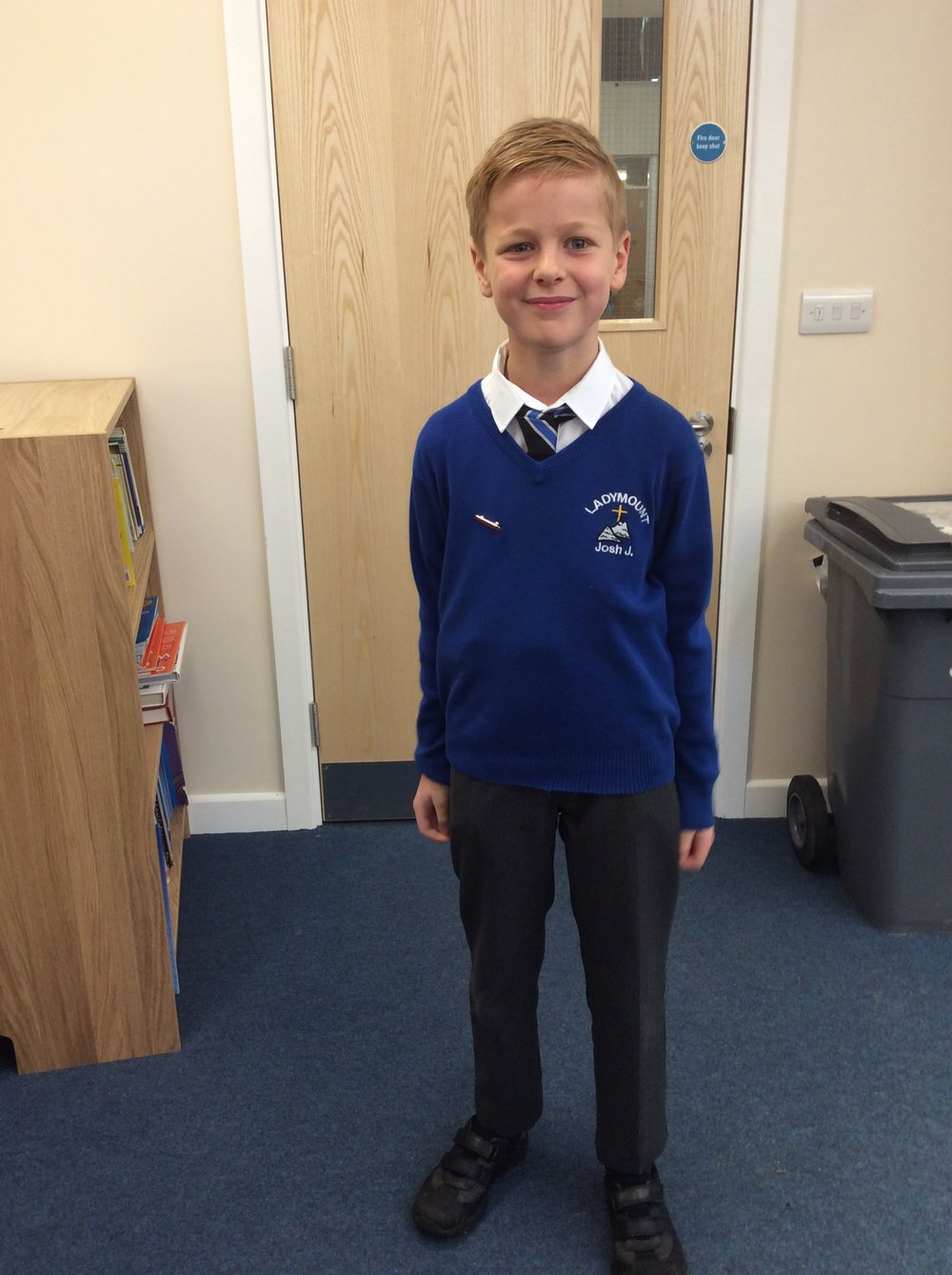 Hello, my name is Joshua from Year 5 and I am the elected Chair of Ladymount School Council. I am responsible for leading the meetings and I shall make sure that everyone's voice is heard.