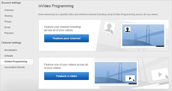 InVideo Programming