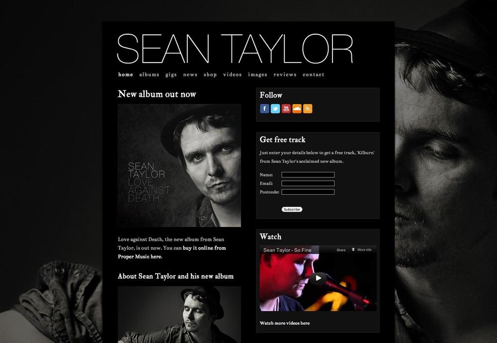 Music Website Design Prescription Pr