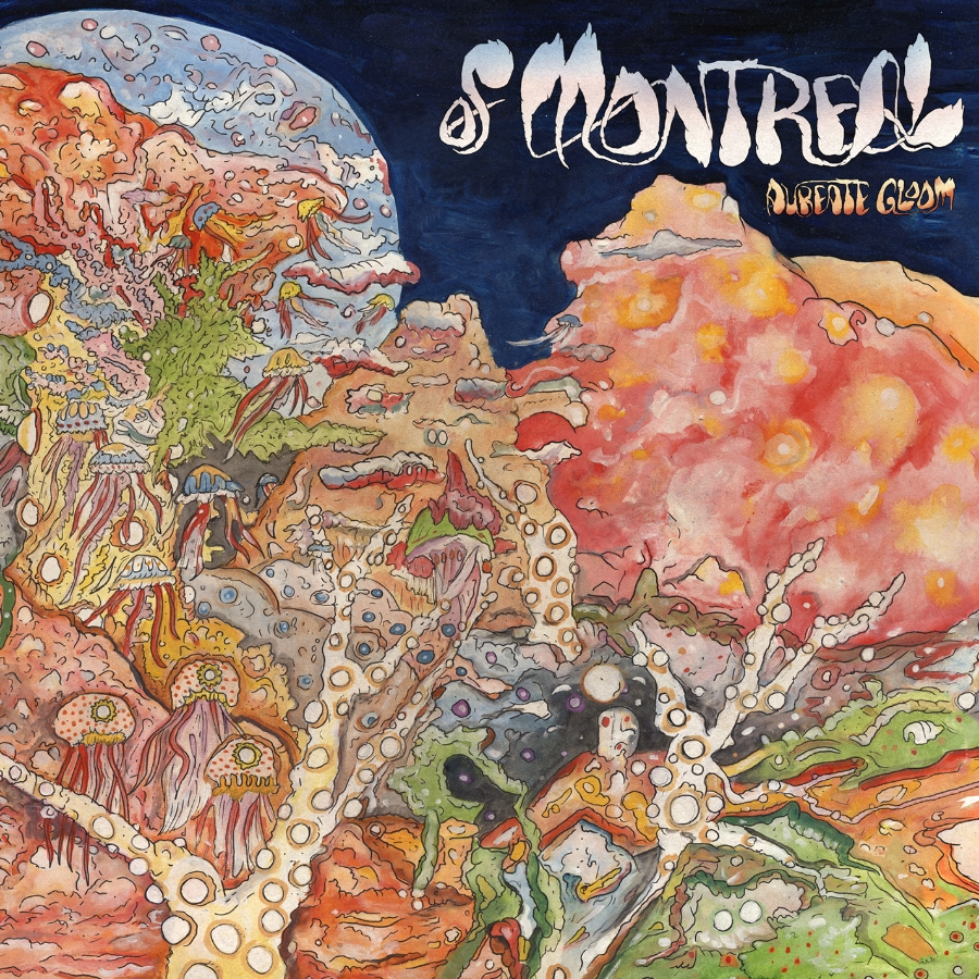 of Montreal - Aureate Gloom art