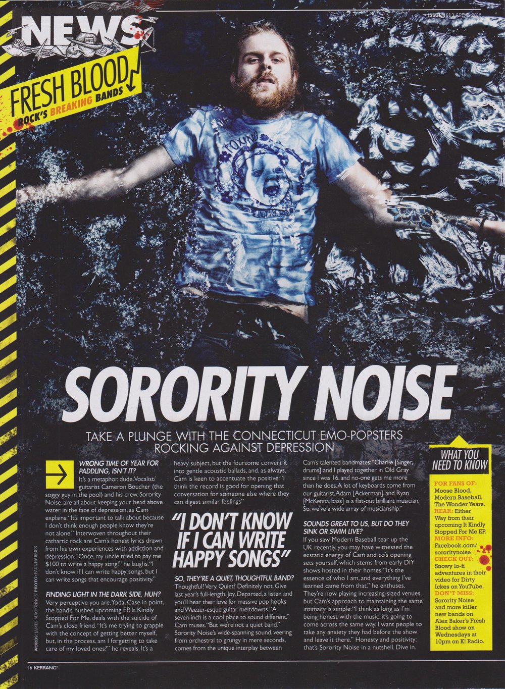 Sorority Noise - Kerrang!