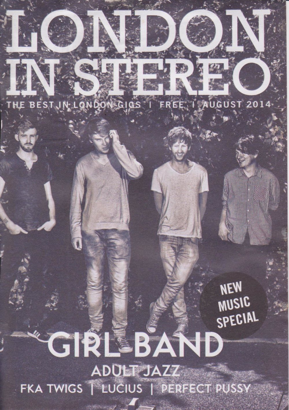 Girl Band - London In Stereo