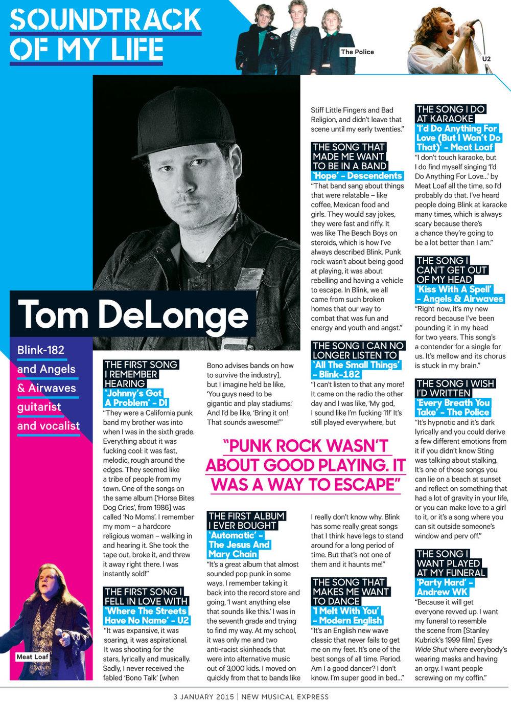 Tom-DeLonge - NME