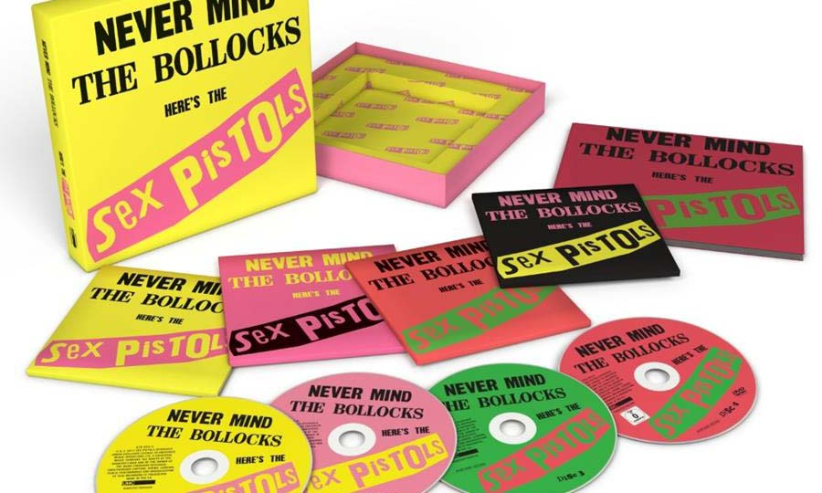 Sex Pistols 'Never Mind The Bollocks', anniversary edition out 27 October 2017