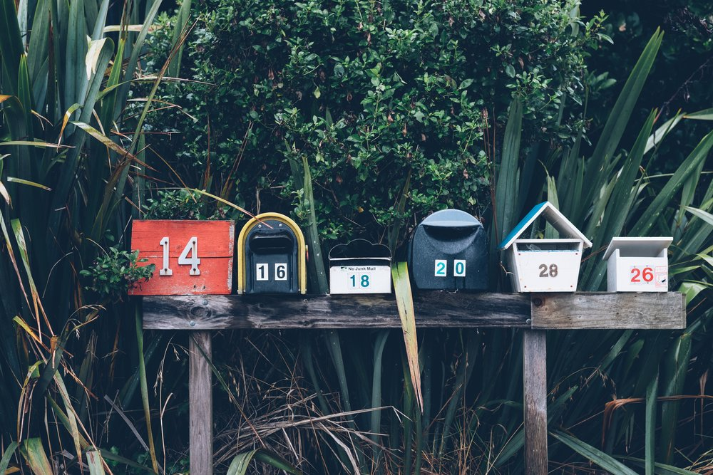 A mailbox - image accompanies article about growing a band's mailing list