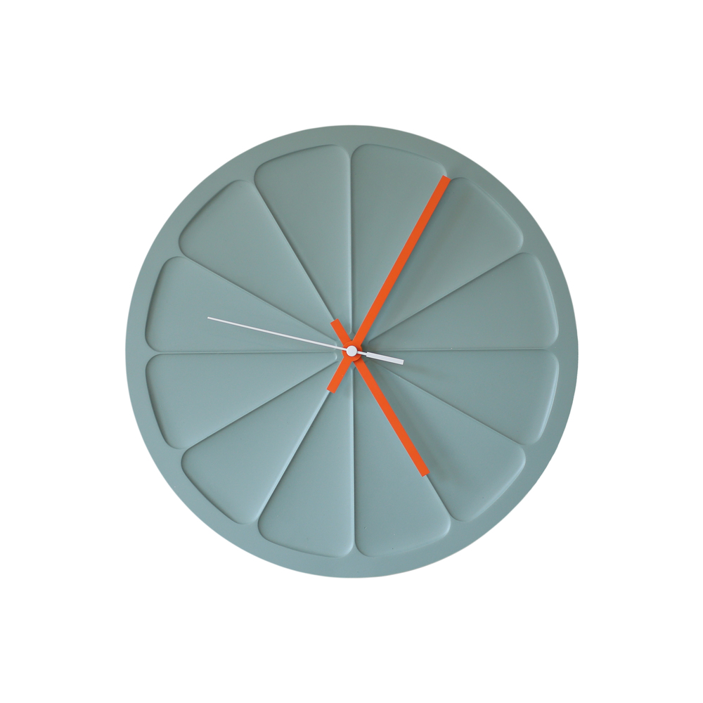 A Clock in Blue Grey