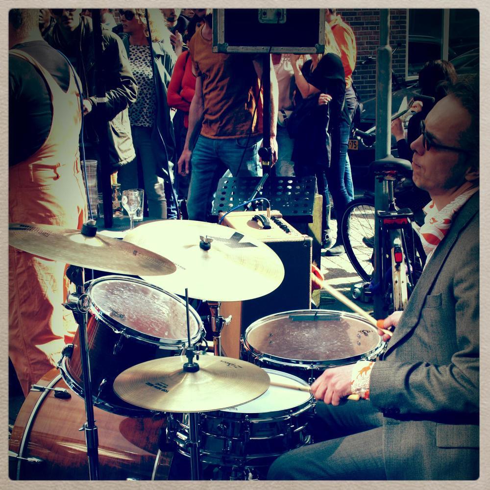foto: Hubba Bubba, Koningsdag Utrecht, april 2015