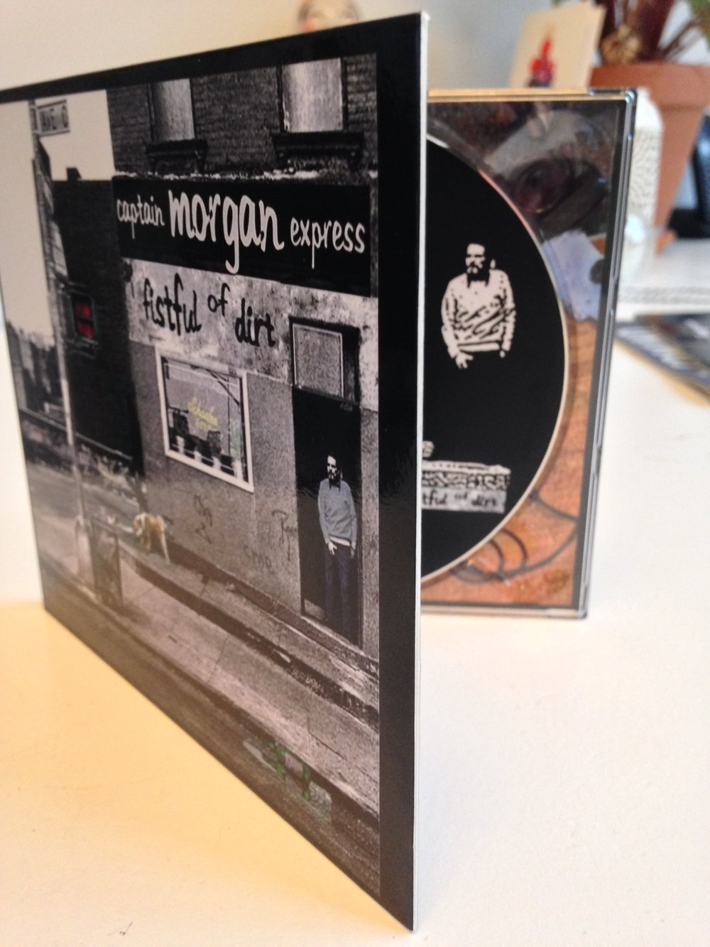 CD Captain Morgan Express - Fistful of Dirt, € 10,= incl. verzendkosten.