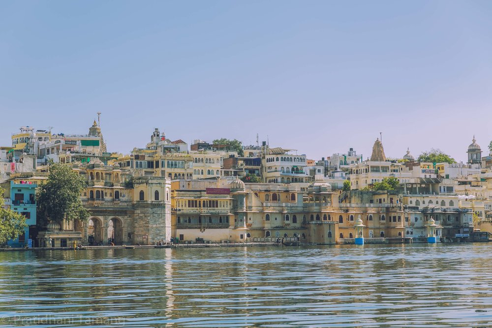 the other view of lake Pichola
