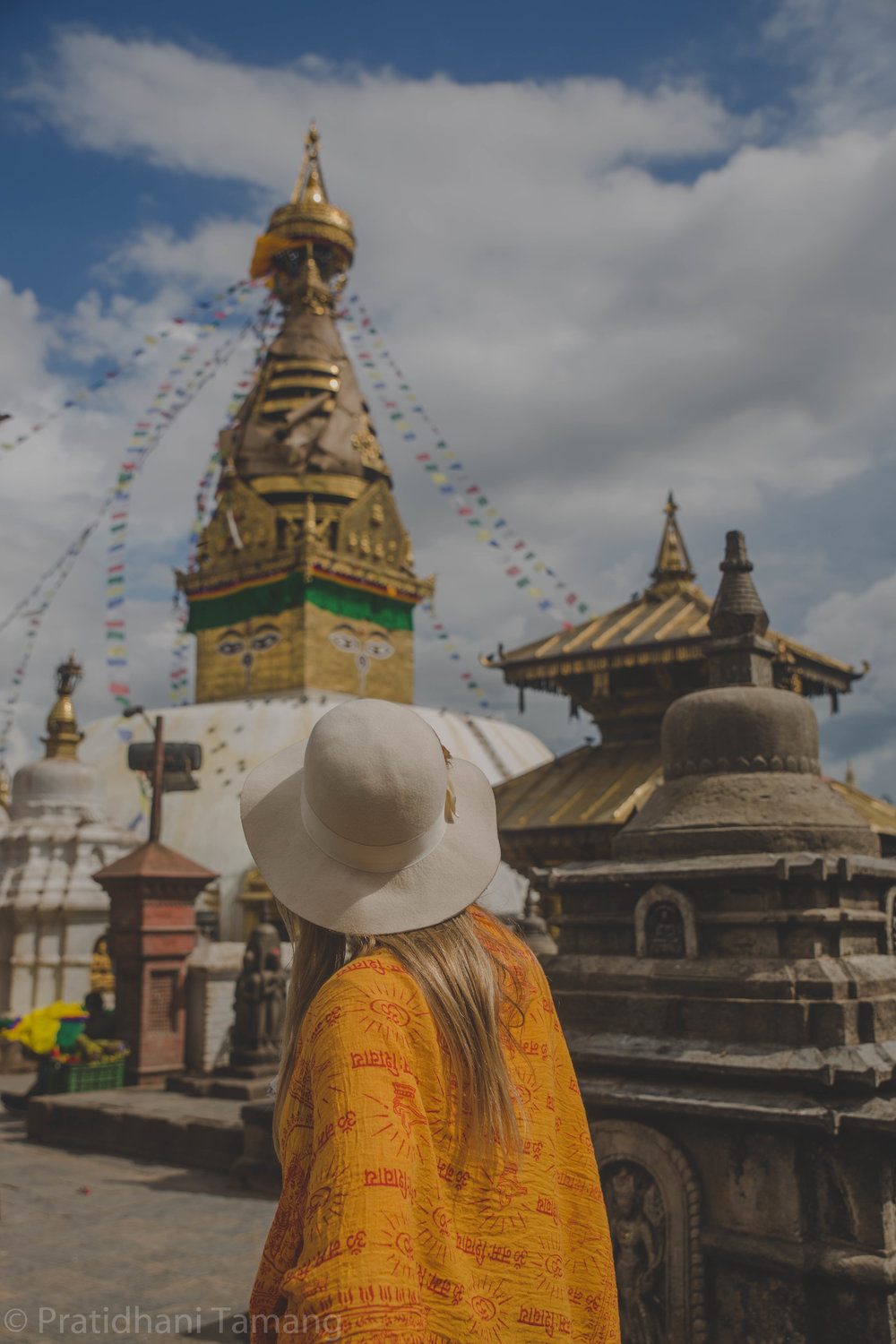 Swayambhunath, commonly known as Monkey temple.