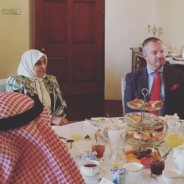 Fascinating update from HE Minister of Planning this morning on the Kuwait National Development plan. With thanks to @ukinkuwait for inviting @kbbcentre along #friendship #kndp #kuwaitcity #ukkuwait #ppp #developmentplan #progress