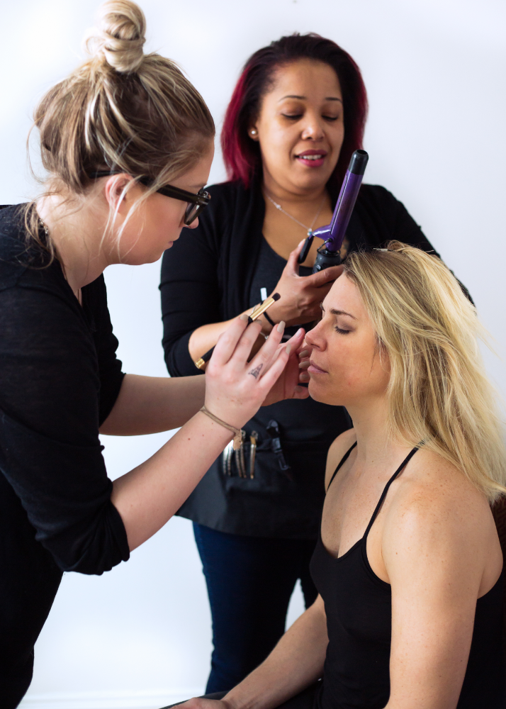 Heather and the fabulous Glamsquad
